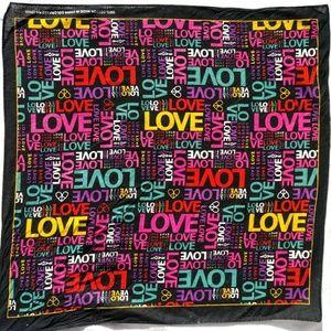 LOVE Cotton Bandana #hundredsofscarves